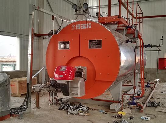 金盛汇化工巴彦淖尔公司燃气蒸汽锅炉安装工程