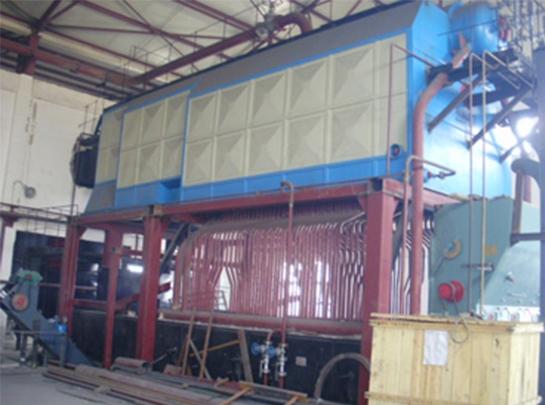 宝塔石化二连浩特公司SZL20-1.25-AⅡ型蒸汽锅炉安装工程