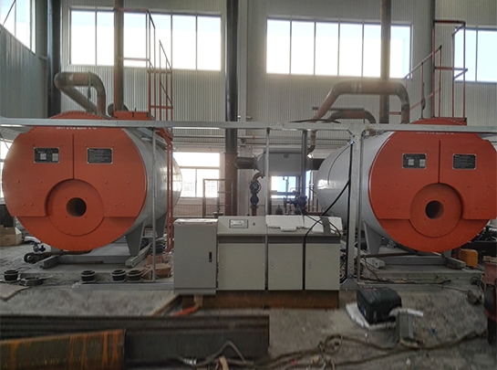 比亚迪包头矿用车公司燃气锅炉安装项目