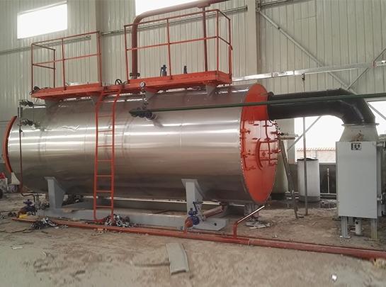 金盛汇化工巴彦淖尔工厂燃气蒸汽锅炉安装项目