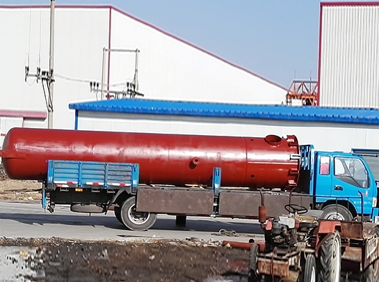 中盐兰太实业化工厂压力容器制造项目