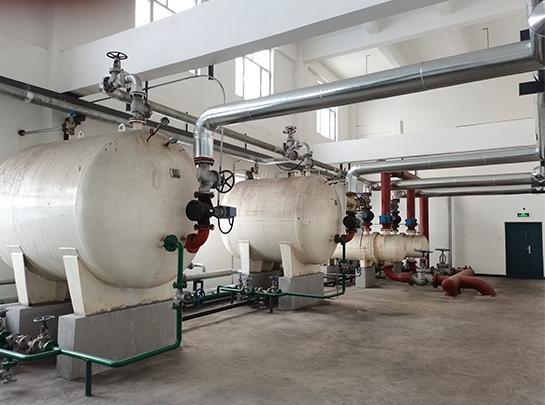 神木市锟源矿业采暖洗浴换热器机组安装
